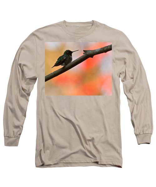 Long Sleeve T-Shirt featuring the photograph On Guard by Robert L Jackson