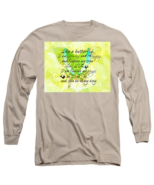 On My Way Long Sleeve T-Shirt by Tina  LeCour
