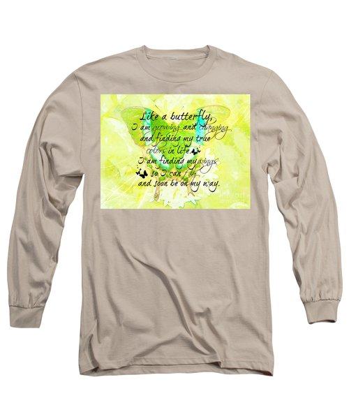 On My Way Long Sleeve T-Shirt
