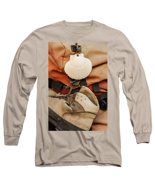 On The Camino De Santiago Long Sleeve T-Shirt