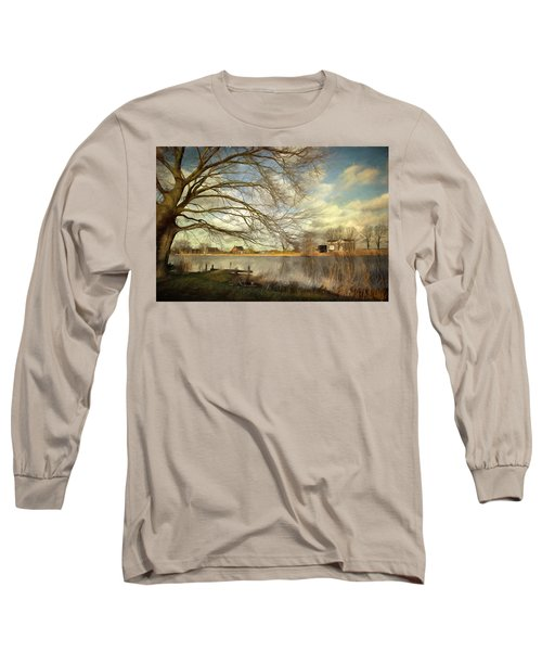 On The River Side Long Sleeve T-Shirt