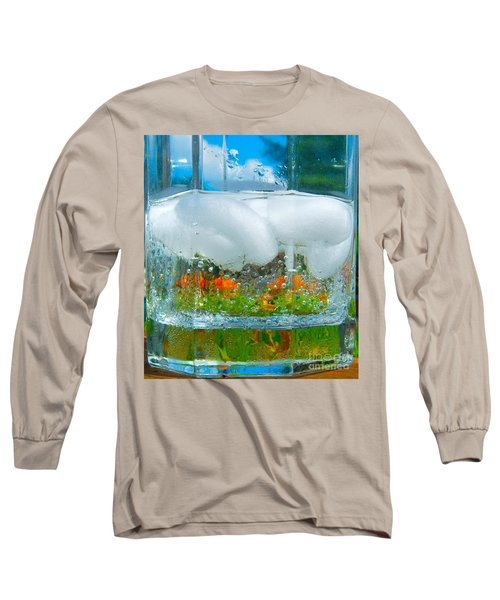 On The Rocks Long Sleeve T-Shirt by Pamela Clements