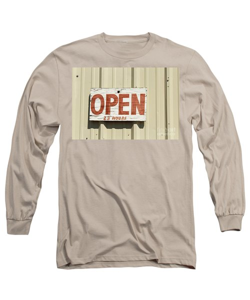 One Hour Lunch Long Sleeve T-Shirt