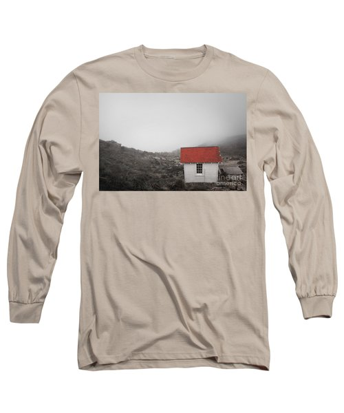 Long Sleeve T-Shirt featuring the photograph One Room In A Fog by Ellen Cotton