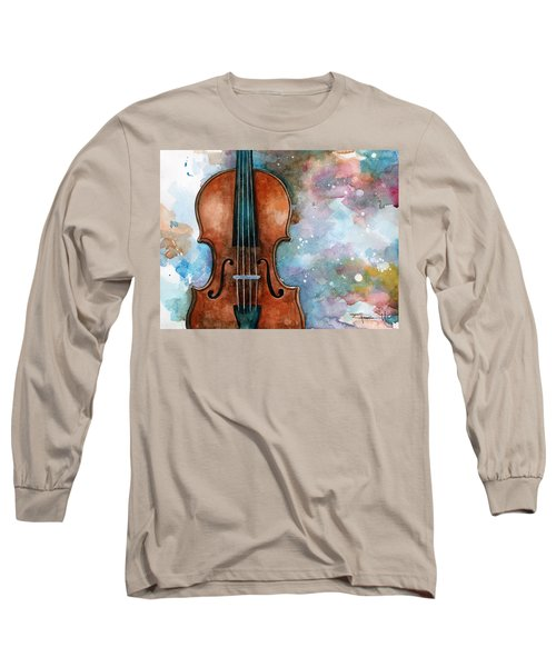 One Voice In The Cosmic Fugue Long Sleeve T-Shirt