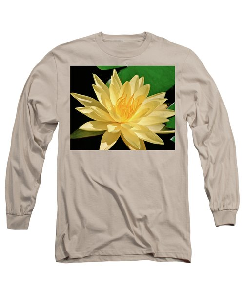 One Water Lily  Long Sleeve T-Shirt