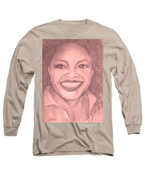 Oprah Long Sleeve T-Shirt by Christy Saunders Church