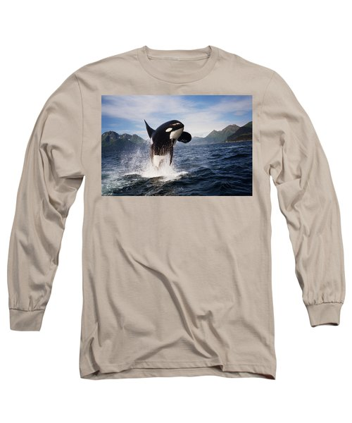 Orca Breach Long Sleeve T-Shirt