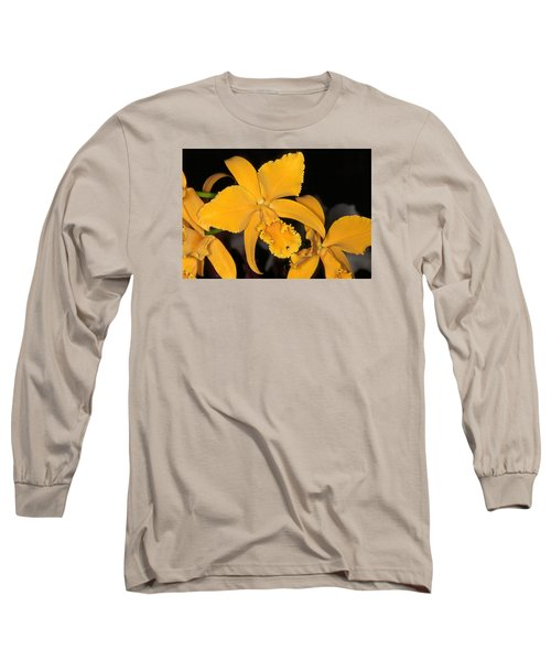 Orchid 5 Long Sleeve T-Shirt by Andy Shomock
