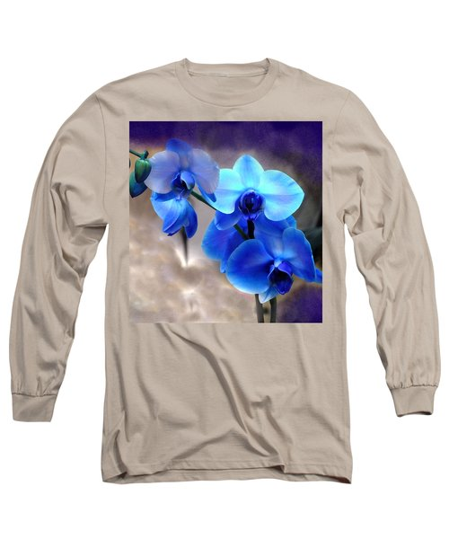 Orchid Art Long Sleeve T-Shirt by Wendy McKennon