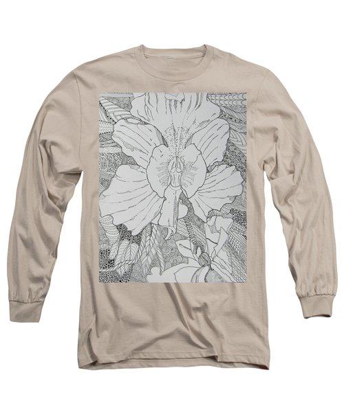 Orchid In Disguise Long Sleeve T-Shirt