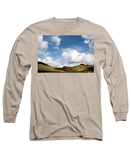 Oregon Trail Country Long Sleeve T-Shirt by Ed  Riche