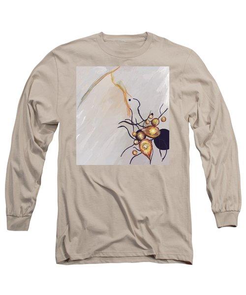 Organic Abstraction Long Sleeve T-Shirt by Enzie Shahmiri
