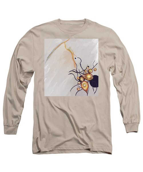 Organic Abstraction Long Sleeve T-Shirt