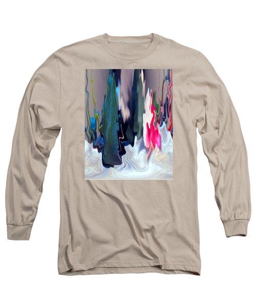 Organic Impressions 2 Long Sleeve T-Shirt by Cedric Hampton
