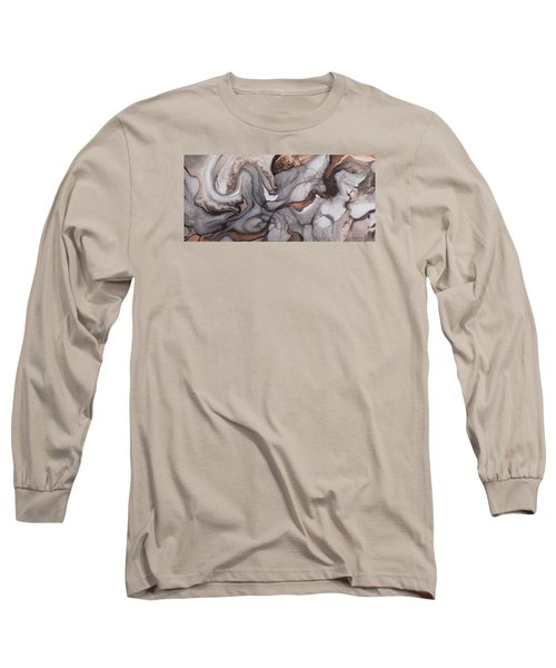 Organico Xxii Long Sleeve T-Shirt by Angel Ortiz