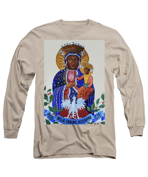Our Lady Of Czestochowa Long Sleeve T-Shirt