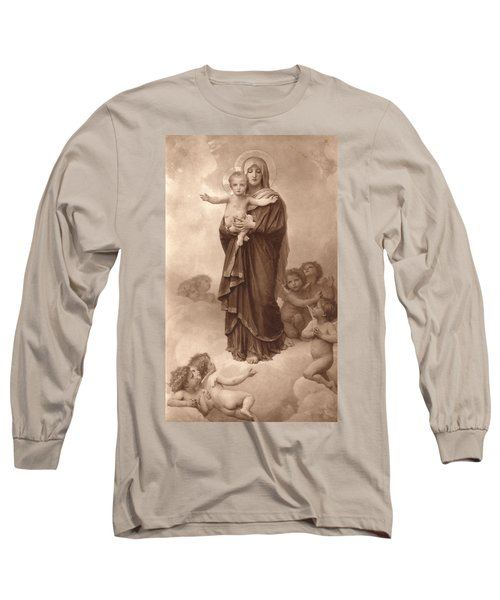 Our Lady Of The Angels Long Sleeve T-Shirt