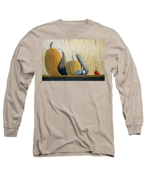 Long Sleeve T-Shirt featuring the painting Out Cast by A  Robert Malcom
