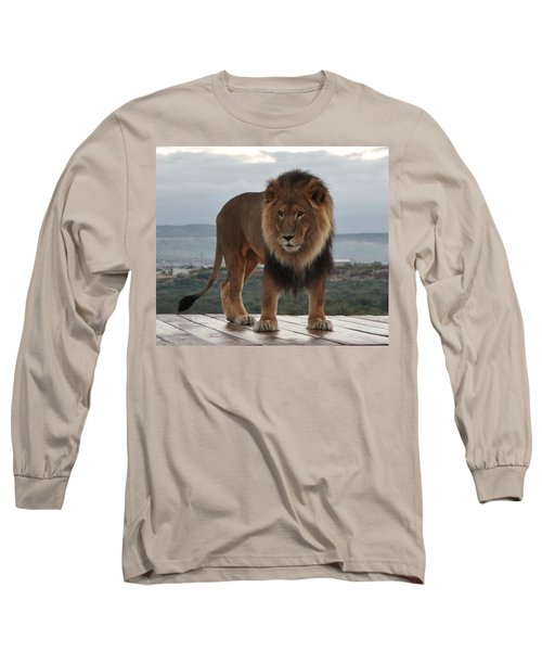 Out Of Africa Lion 3 Long Sleeve T-Shirt