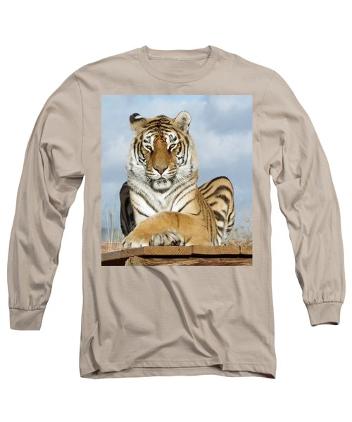 Out Of Africa Tiger 3 Long Sleeve T-Shirt