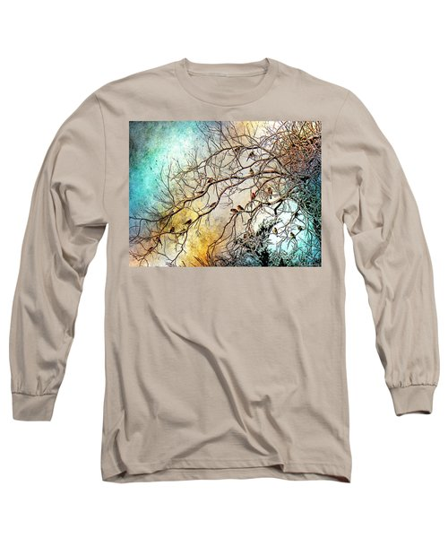Out On A Limb In Jewel Tones Long Sleeve T-Shirt