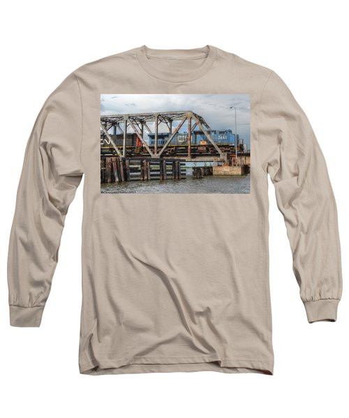 Over Pass Manchac Long Sleeve T-Shirt by Charlotte Schafer