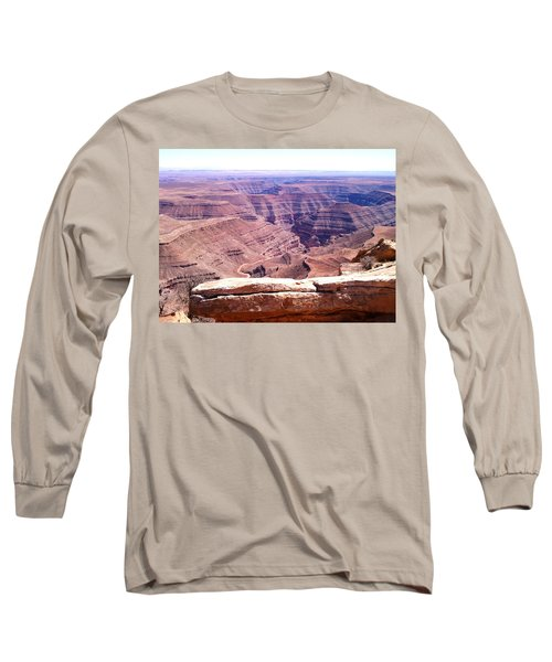 Overlook Into The Layers Of Time Long Sleeve T-Shirt