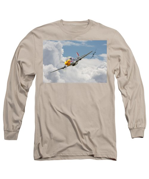 P51 Mustang And Me 262 Long Sleeve T-Shirt