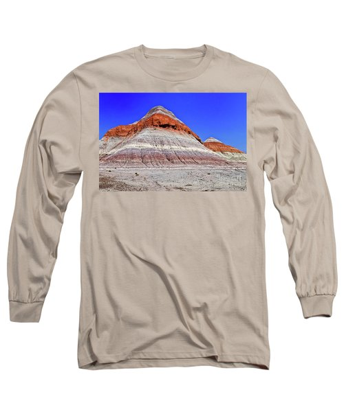 Long Sleeve T-Shirt featuring the photograph Painted Desert National Park by Bob and Nadine Johnston