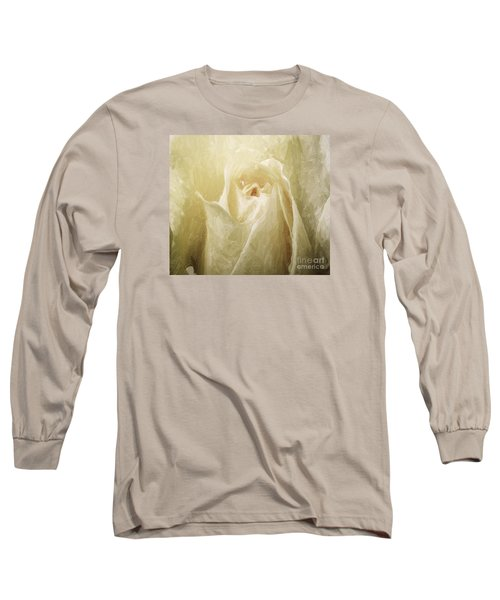 Painted Rose Long Sleeve T-Shirt