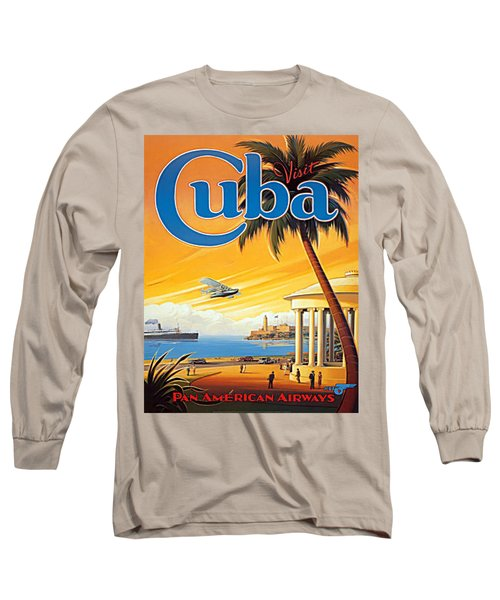 Pan Am Cuba  Long Sleeve T-Shirt