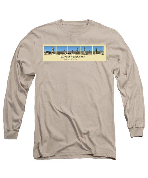 Panorama Of Ecija Spain Long Sleeve T-Shirt