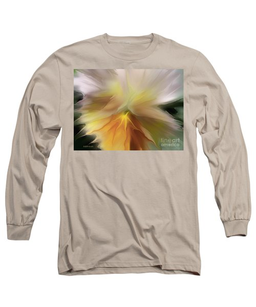 Pansy Art Long Sleeve T-Shirt