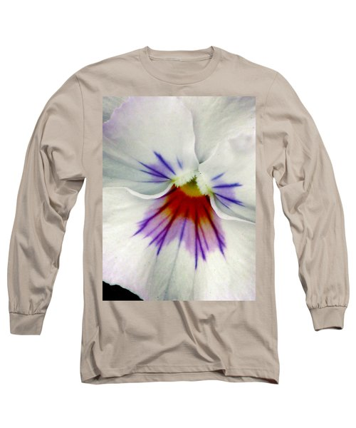 Pansy Flower 11 Long Sleeve T-Shirt