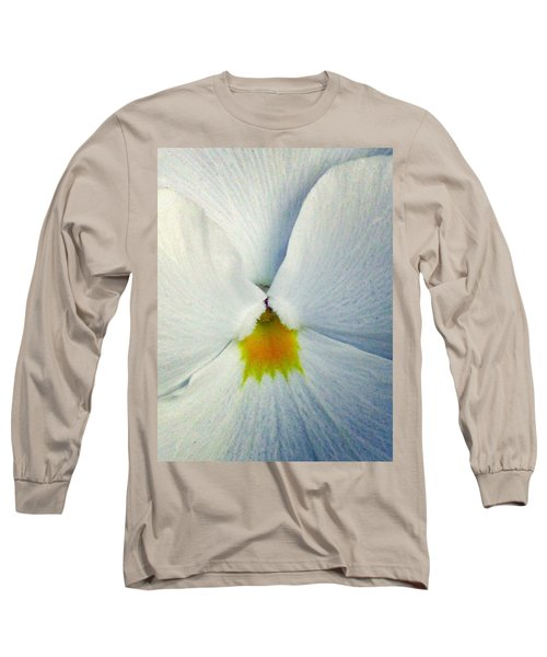 Pansy Flower 19 Long Sleeve T-Shirt