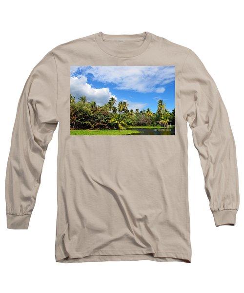 Paradise Lagoon Long Sleeve T-Shirt