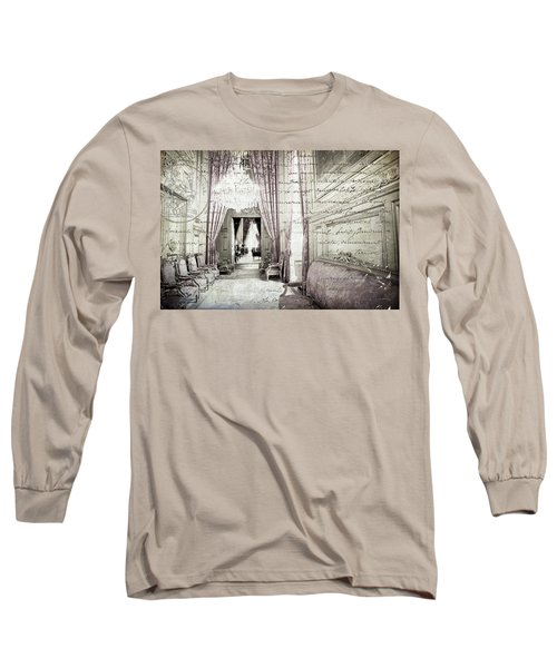 Paris   I Wish I Had Stayed Long Sleeve T-Shirt