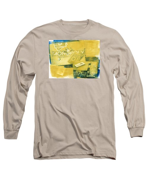 Pass Go Long Sleeve T-Shirt by Caitlyn  Grasso