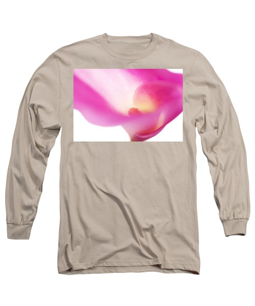 Passion For Flowers. Pink Veil Long Sleeve T-Shirt