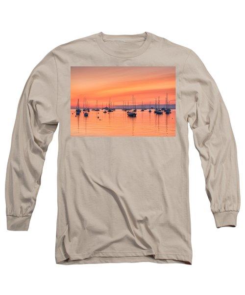 Pastel Harbor Long Sleeve T-Shirt