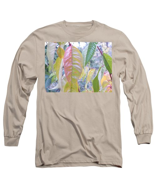 Pastel Symmetry  Long Sleeve T-Shirt by Brian Boyle