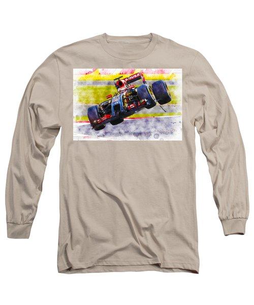 Pastor Maldonado Long Sleeve T-Shirt