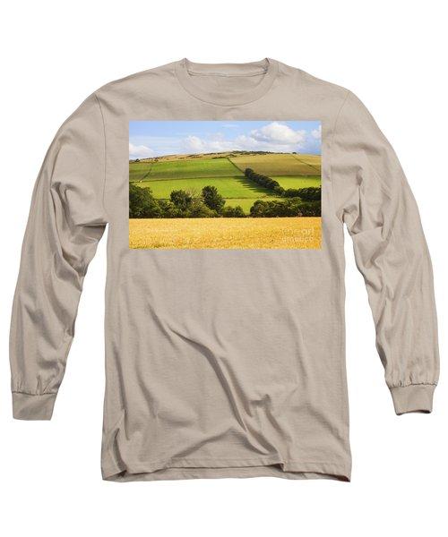 Pastoral Scene Long Sleeve T-Shirt