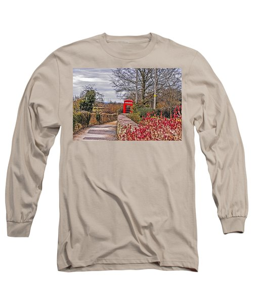 Path Through The Cotswolds Long Sleeve T-Shirt