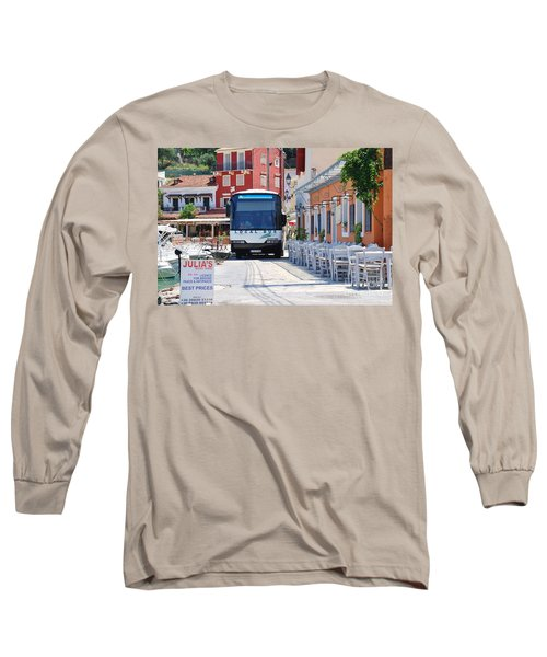 Paxos Island Bus Long Sleeve T-Shirt