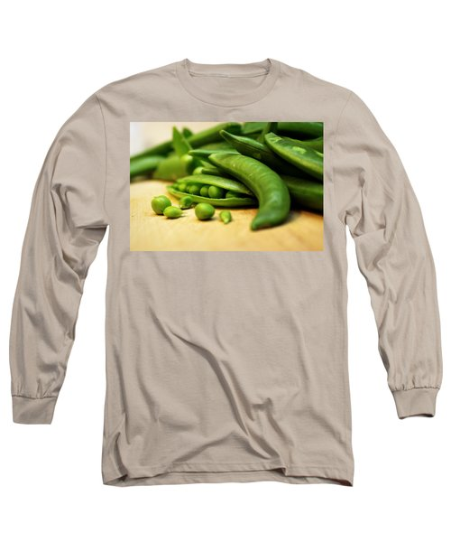 Pea Pods Long Sleeve T-Shirt by Joseph Skompski
