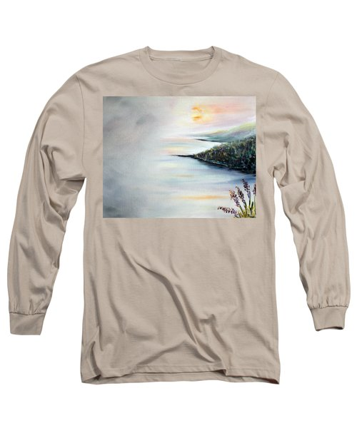 Long Sleeve T-Shirt featuring the painting Peace by Meaghan Troup