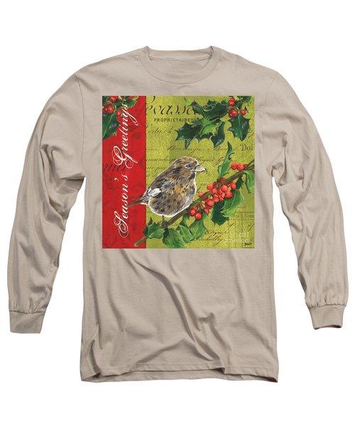 Peace On Earth 1 Long Sleeve T-Shirt by Debbie DeWitt