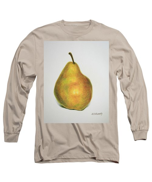 Pear Practice Long Sleeve T-Shirt by Marna Edwards Flavell